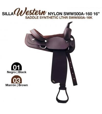 Silla Western Completa de Nylon