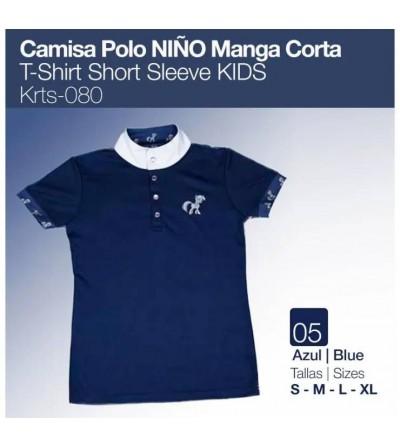 Camisa Polo Niño Manga Corta CORTA KRTS-080