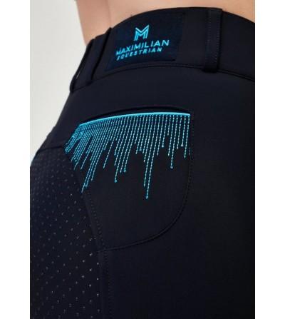 Pantalón de Montar Viena Mujer Azul Marino Maximilian