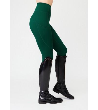 Pantalón de Montar Leggins de Mujer Maximilian Sculpt Gris Perla
