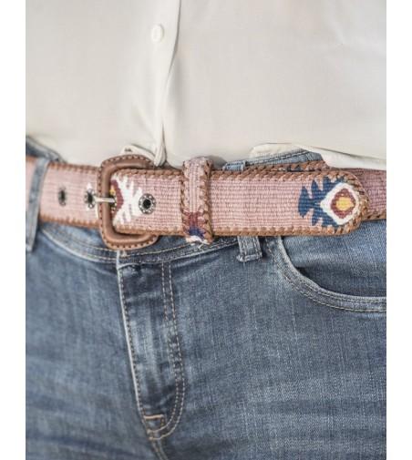 Cinturón Rosa Palo Unisex Adulto