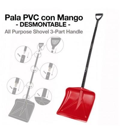 Pala Pvc con Mango Desmontable 29697