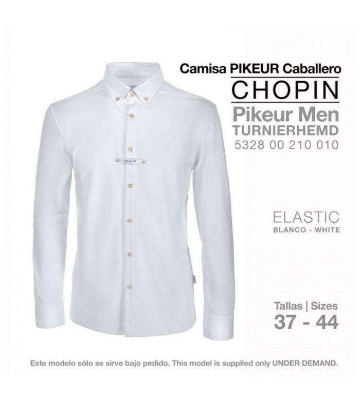 Camisa Pikeur Caballero Turnierhemd Manga Corta