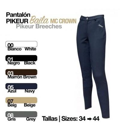 PANTALÓN PIKEUR BAILA MC.CROWN
