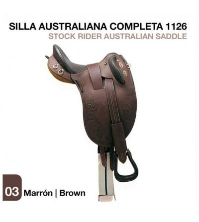 Silla Australiana (Completa) 1126 Marron