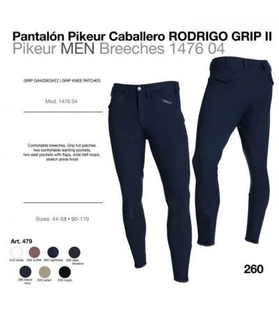 PANTALÓN PIKEUR CABALLERO RODRIGO GRIP II 147604 479