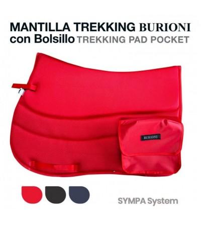 Mantilla Trekking Burioni con Bolsillo