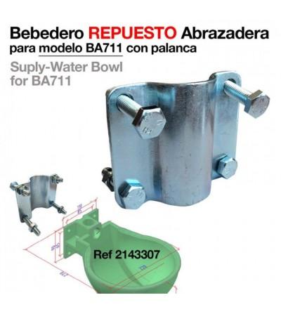 Bebedero Repuesto Abrazadera para BA711 (4 Agujeros)