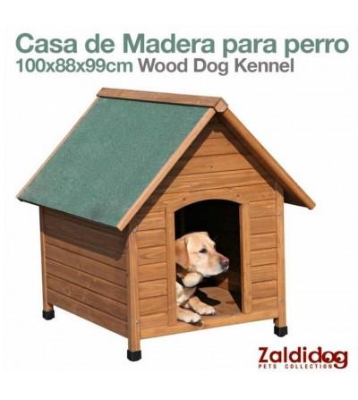 Perro Casa de Madera 100x88x99 cm