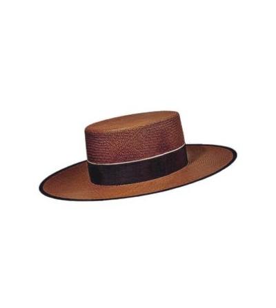 Sombrero Cordobés Cañero Pánama Marrón