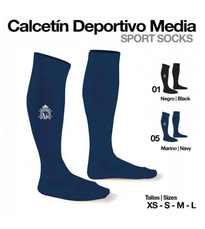 Calcetín Deportivo Media Adulto/Niño