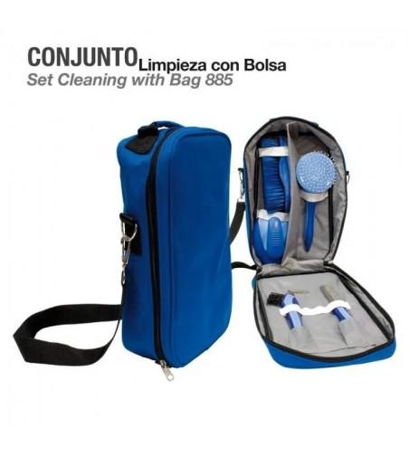 Conjunto Limpieza con Bolsa 885 Azul