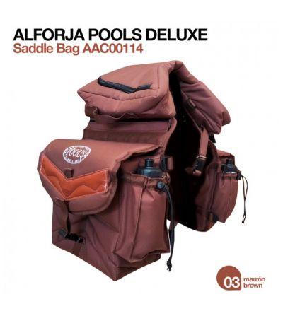 Alforja Pools Deluxe AAC00114 Marrón