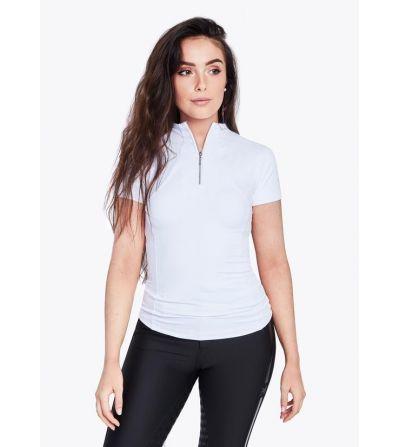 Camiseta manga corta Base Layer Blanco/Plata