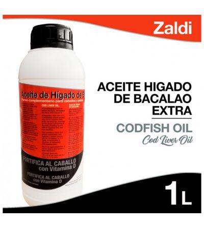 Zaldi Aceite Hígado de Bacalao Extra 1 Litro