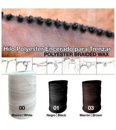 HILO POLYESTER ENCERADO PARA TRENZAR