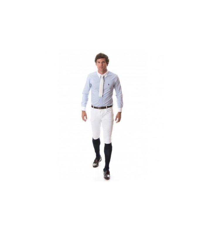 Pantalón Blanco Hombre