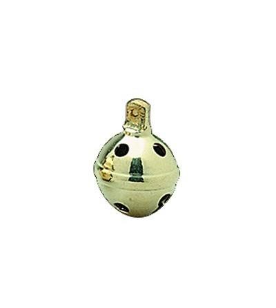 Cascabel Dorado 3,5 cm (6 Unidades)