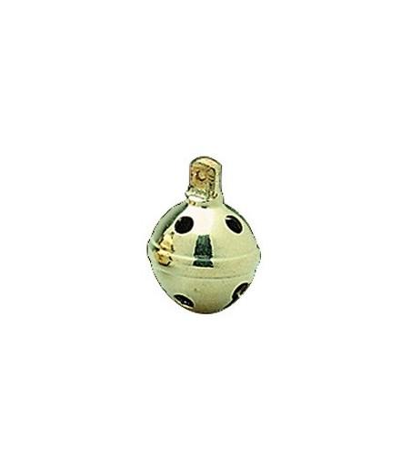 Cascabel Dorado 6 cm (6 Unidades)
