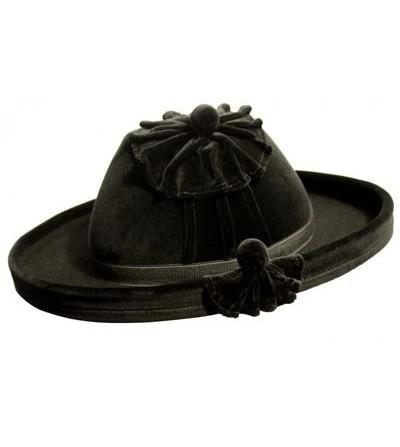 Sombrero Catite de Terciopelo Negro