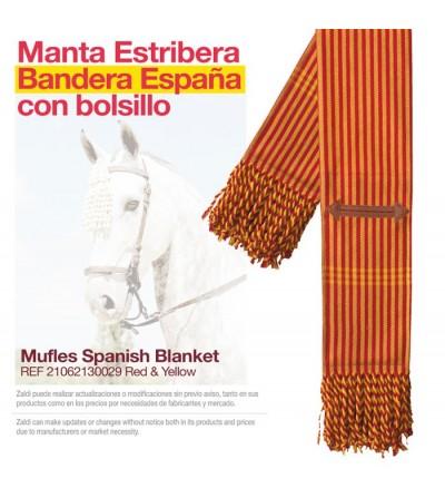 Manta Estribera con Bolsillo Castecus