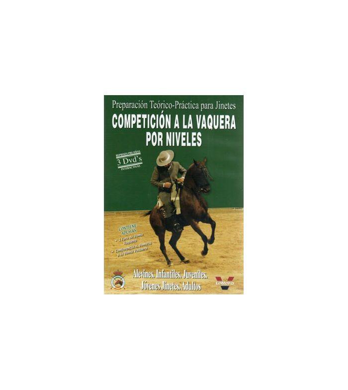 Dvd: Competición Vaquera por Niveles (3Uds)