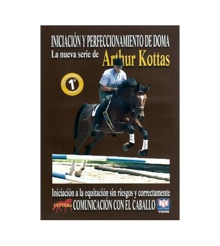 Dvd: Arthur Kottas La Comunicación con El Caballo