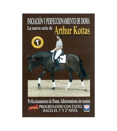 Dvd: Arthur Kottas Progresando con Éxito Hacia El 1º Y 2º Nivel