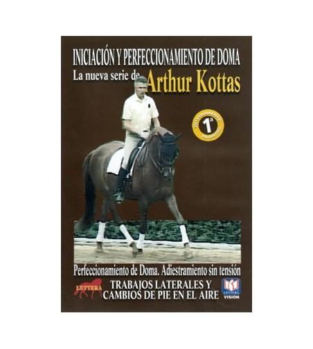 Dvd: Arthur Kottas Trabajos Laterales y Cambios de Pie en El Aire