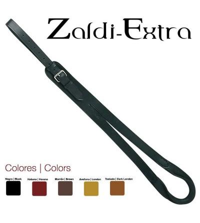 Baticola de Cuero Zaldi Extra Caballo