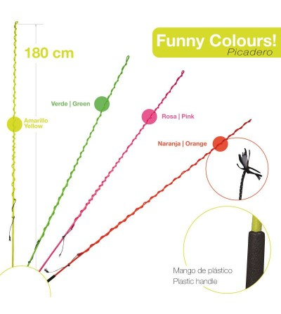 Fusta Picadero Neon 500 180 cm