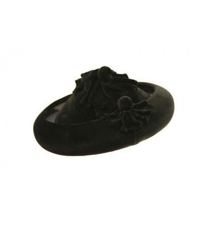 Sombrero Calañes Terciopelo Negro
