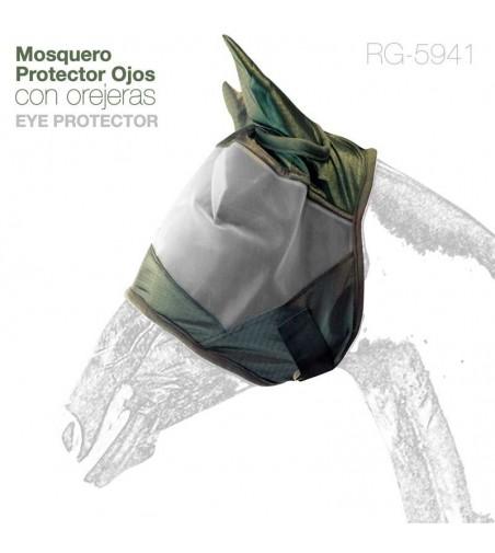Mosquero para Caballo Con Orejeras Rg-5941