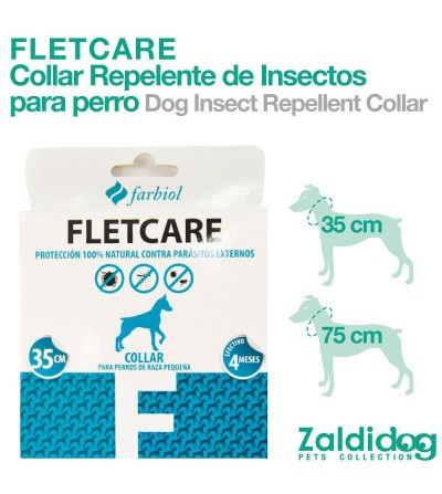 Perro Collar Repelente Insectos Fletcare