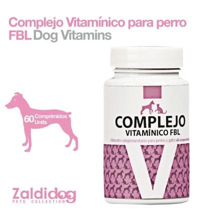 Perro Complejo Vitamínico Fbl 60 Comprimidos