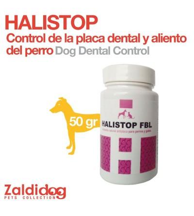 Perro Control Placa Dental y Aliento Halistop 50 Gr