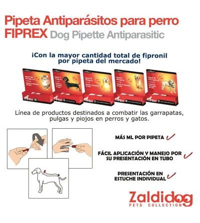 Perro Pipeta Antiparásitos Fiprex