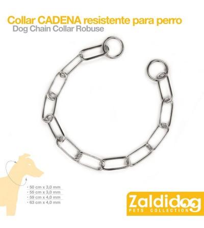 Perro Collar Cadena Resistente