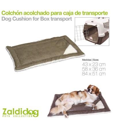 Perro Colchón para Caja de Transporte