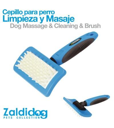 Perro Cepillo para Limpieza y Masaje