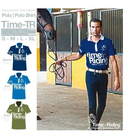 Polo Time-Tr Combi Hombre
