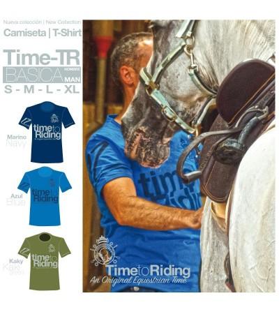 Camiseta Time-Tr Básica Hombre