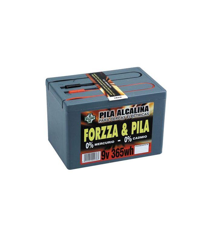 Pastor: Pila Forzza 9V 365W Alcalina