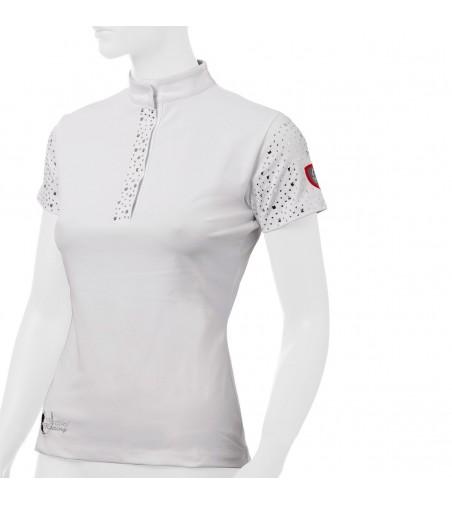 Polo de Concurso Tattini Mujer Tachuelas