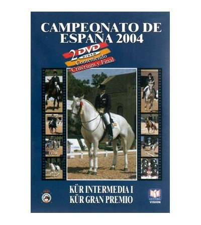 Dvd: Campeonato De España de Doma Clásica