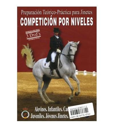 Dvd: Competición Por Niveles (Pack 3 Uds)
