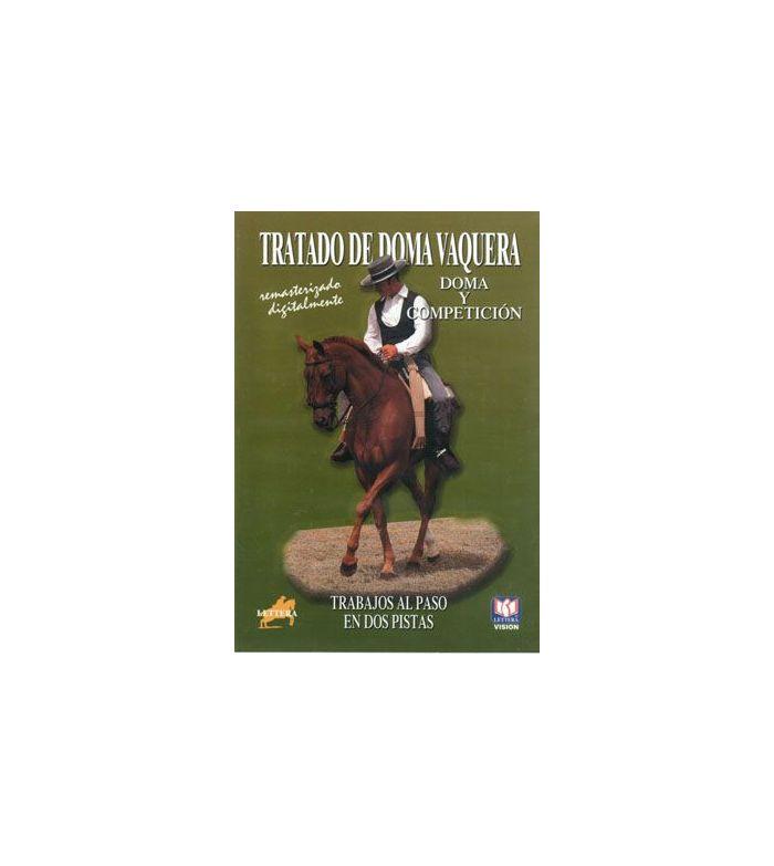 Dvd: a la Vaquera Trabajos al Paso en Dos Pistas