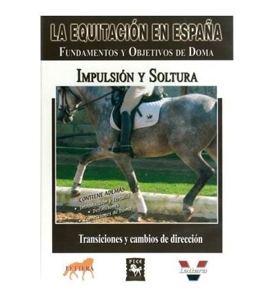 Dvd: Equitación/España Impulsión Y Soltura
