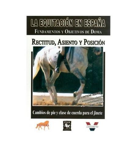 Dvd: Equitación/España Rectitud, Asiento, Posición