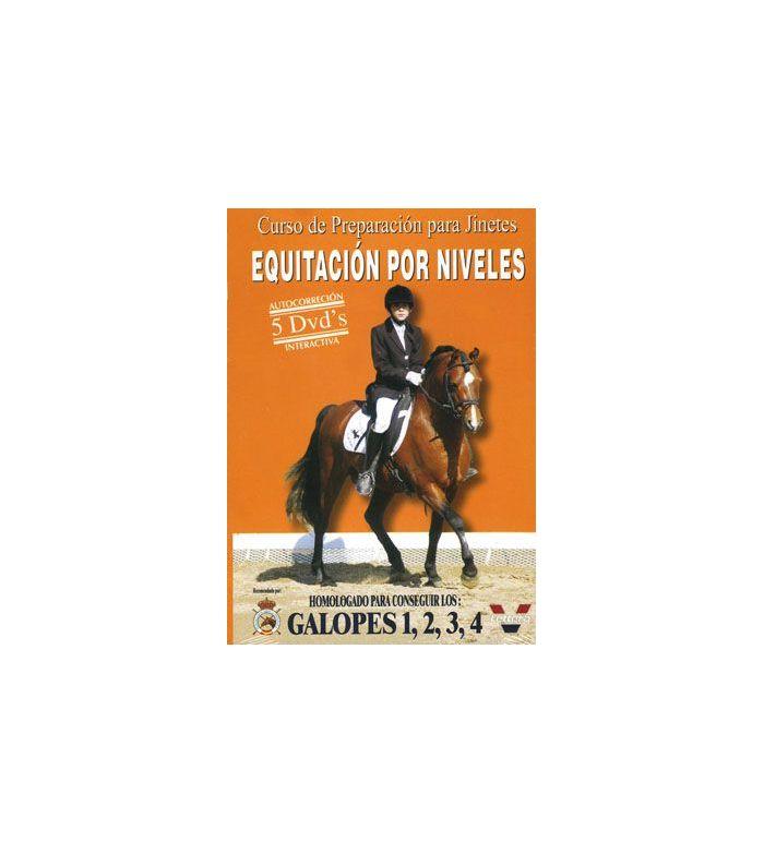 Dvd: Equitación por Niveles Galopes 1,2,3,4